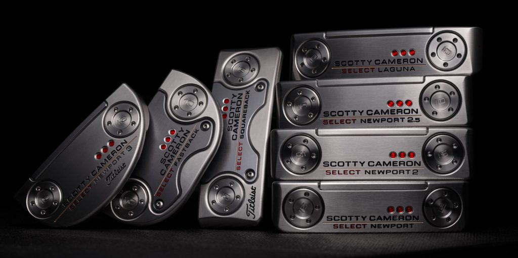 Gama Titleist Scotty Cameron Putters 2018