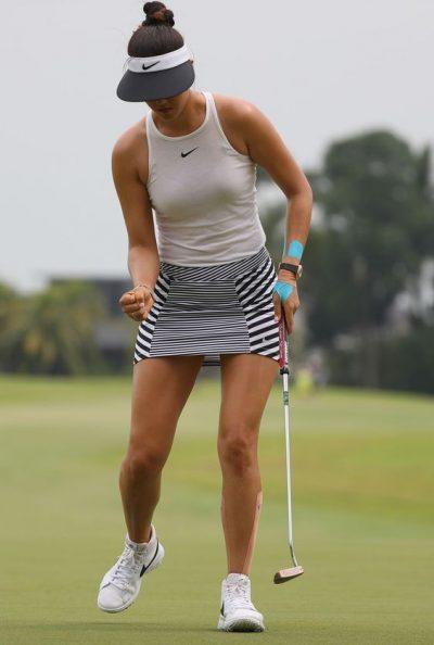 Michelle Wie marca la moda femenina 2018 en el golf femenino