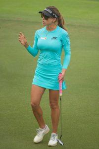 moda Golf Femenino Belen Mozo está en el top 10 de bellezas en el golf femenino LPGA
