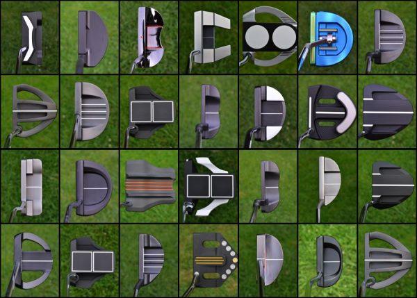 Cada fabricante tiene sus modelos y tipos de putter dentro de una misma gama de temporada