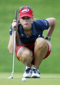 Paula también es icono para el golf femenino