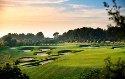 Real Club de Golf El Prat, Terrassa, Barcelona, Hoyo 12 Open par 4
