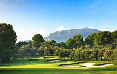Real Club de Golf El Prat, Terrassa, Barcelona, Hoyo 17 Open par 4