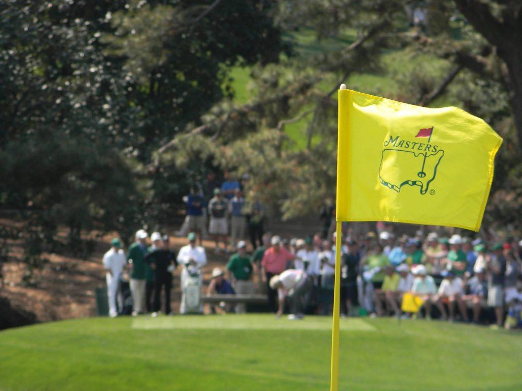 Bandera de Masters Augusta
