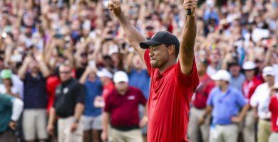 Tiger Woods gana su Masters nº 5 y su Major nº 15