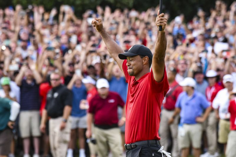 Tiger Woods gana su Masters nº 5 y su Major nº 15