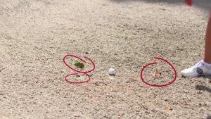Nueva regla de golf 2019 permite retirar impedimentos sueltos del bunker