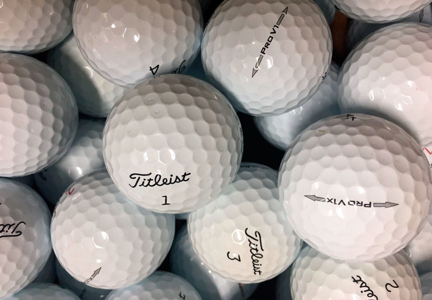 bolas de golf segunda mano en buen estado