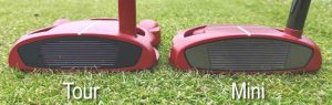 putter TaylorMade Spider Tour vs. Spider Mini